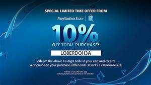 PlayStation Store 10 Discount This Weekend With This Code