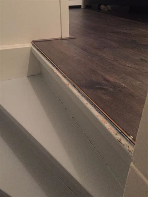 overgang trap laminaat overgang trap met laminaat werkspot