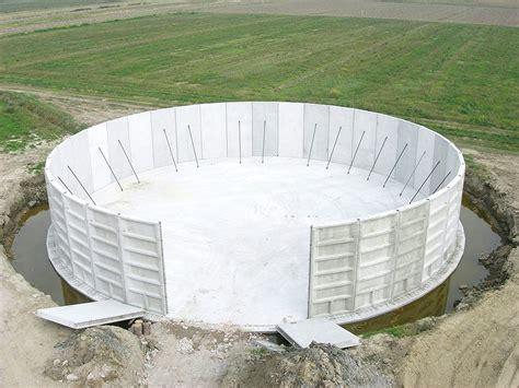 vasche prefabbricate in cemento vasche prefabbricate cemento armato 3 dalla mora