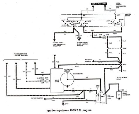 ford ranger bronco ii electrical diagrams   ranger