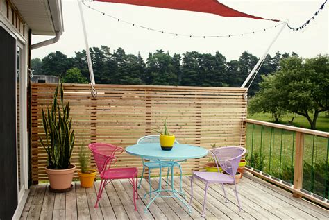 deck   privacy wall interesting ideas  home