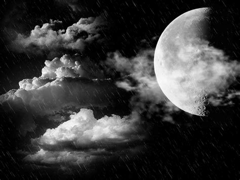 Moon And Clouds Wallpaper by Moon Moon Wallpaper 22778631 Fanpop