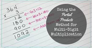 Using The Partial Products Method For Multi