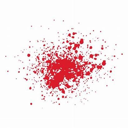 Blood Splatter Transparent Sangre Svg Grunge Clipart