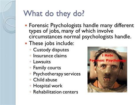 Forensic Psychologist