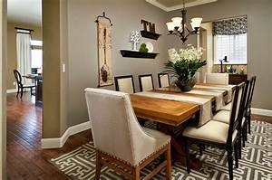 Dining, Room, Table, Centerpieces, With, Simple, Ideas
