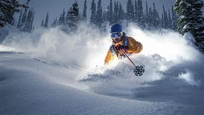 Skiing Winter Ski Snow Sport Wallpaperup Wallpapers