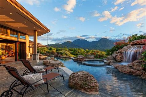 resort style estate  princeville hawaii hgtv