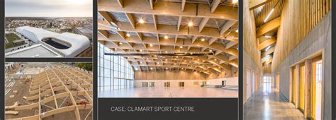 urban sports centre  unforeseen wooden curves