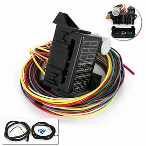Speedway 8 Circuit Muscle Car Wiring Harness W   Detailed