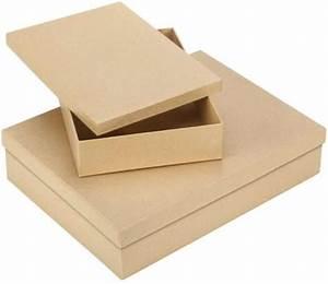 Pappschachteln Mit Deckel : rechteckige pappschachteln online kaufen buttinette ~ A.2002-acura-tl-radio.info Haus und Dekorationen
