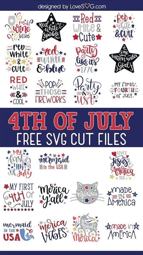Free July 4Th Svg Files  – 110+ File SVG PNG DXF EPS Free
