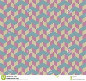 3d Cube Vector Seamless Pattern. Royalty Free Stock ...