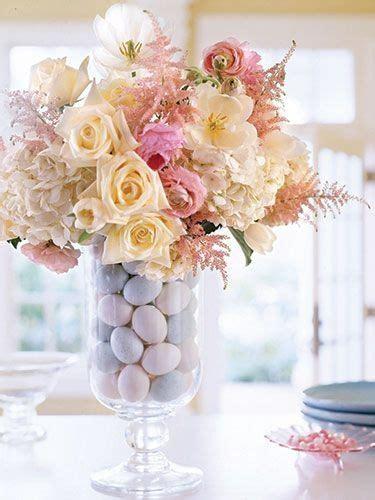 Blumen Hochzeit Dekorationsideenhochzeit Deko Fuers Boden by Deko Ideen Ostern F 252 R Tischdeko Mit Vase Und Ostereiern