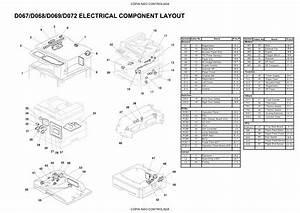 Ricoh Aficio Mp171 171f 171sfp Service Parts Diagram