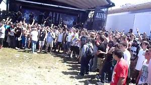 Whitechapel WALL OF DEATH. Pomona,Ca. Warped Tour 2010 ...