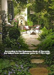 Beautiful Cottage Garden Patio