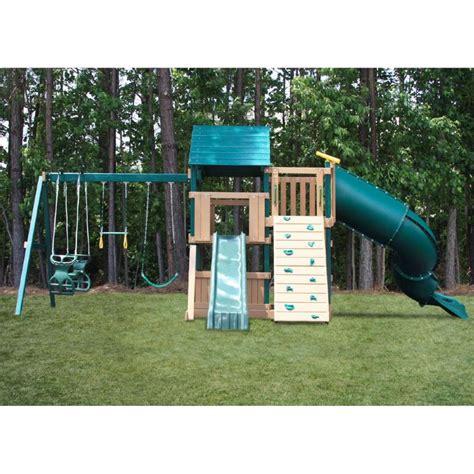 Swing Set by Plastic Coated Swing Sets Swing Set Information