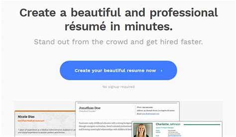 Create A Professional Resume by 10 Best Tools To Create Professional Resume