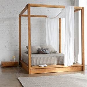 the 25 best scandinavian canopy beds ideas on pinterest With modern canopy bed ideas and buying tips