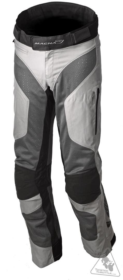 motorcycle pants macna men 39 s summer silicum mesh motorcycle pant