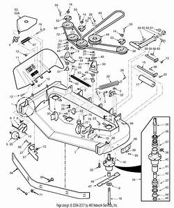 Scag Tiger Cat 52 Deck Belt Diagram