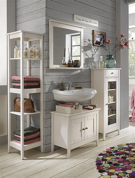 Küche Weiss Holz by Massivholz Badm 246 Bel Set Kiefer Wei 223 Lasiert Badezimmer
