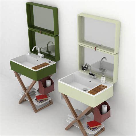 bag portable bathroom  olympia ceramica