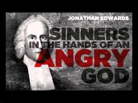 sinners   hands   angry god  jonathan edwards
