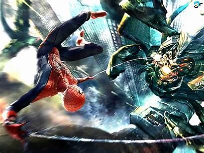 Spiderman Spider Amazing Wallpapers Desktop Goblin Pc