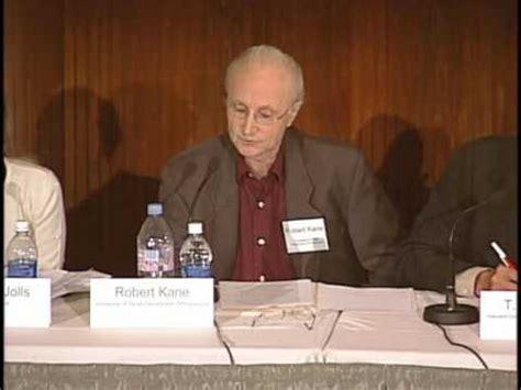 Justice For Hedgehogs Professor Robert Kane Youtube