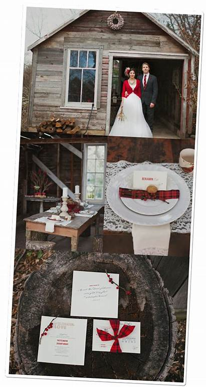 Mariage Rouge Hiver Lets Inspiration
