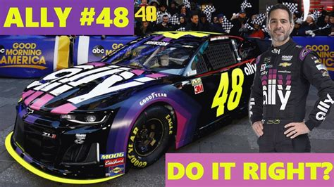 The black background allows most of your apps to be displayed on. DO IT RIGHT? Ally #48 for Jimmie Johnson in 2019 - YouTube