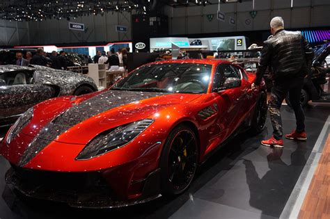 All The Tacky Exotic Cars Mansory Brought To Geneva