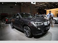 Mondial auto 2014 BMW X4 L'argus