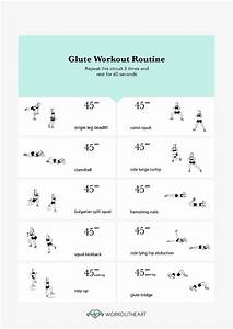 New Glute Workout Routine! | Workout and Nutrition Plans ...
