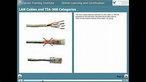 Network Training - Lan Cables And Tia-568 Categories