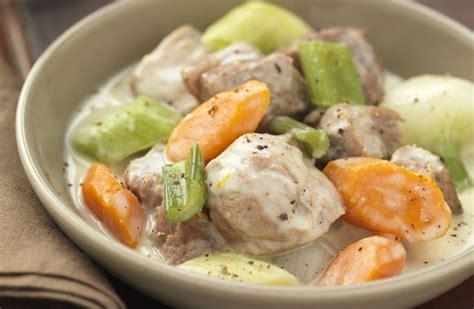 recette de cuisine blanquette de veau blanquette de veau recettes de cuisine la viande fr