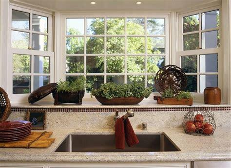 bay window   kitchen sink
