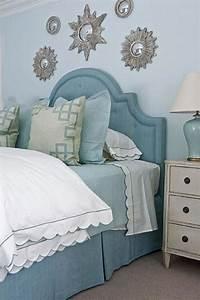 25, Stunning, Blue, Bedroom, Ideas