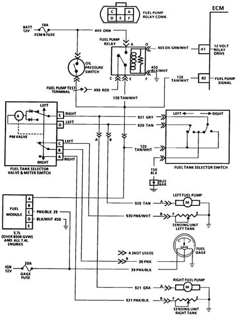 Need Wiring Diagram For Chevy Fuel Pump
