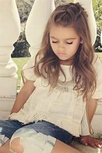 Coiffure petite fille cheveux longs - 40 coiffures de