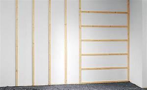 Rigips Unterkonstruktion Holz : wand renovieren mit einer vorsatzschale wandverkleidung ~ Eleganceandgraceweddings.com Haus und Dekorationen