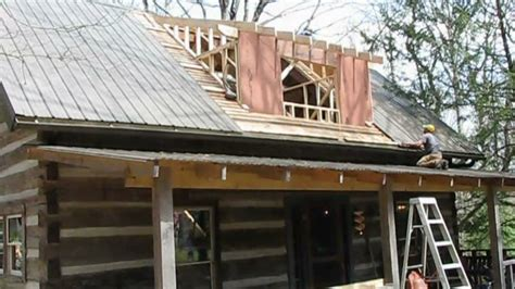 shed dormer construction mountain cabin renovation vlog 12 dormer framing and