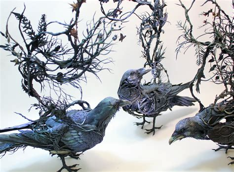 Surrealist Sculptures By Ellen Jewett Merge Plant And Animal Life Colossal