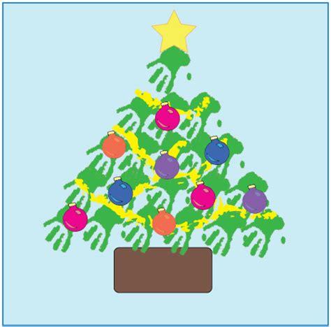 193 rbol de navidad con manos