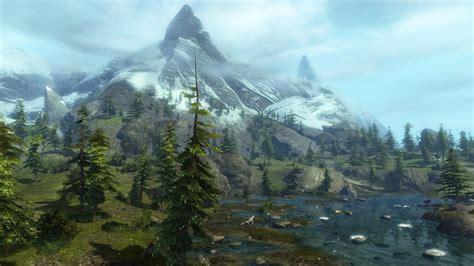 guild wars   fantastisch aussehende landschaften