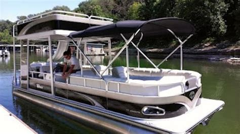 Party Cat Pontoon Boat by 2014 Tahoe Pontoon Double Decker Pontoons Boats