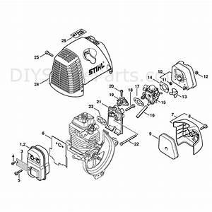 Stihl Km 130r Engine  Km 130r  Parts Diagram  Muffler