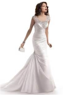fit n flare wedding dress fit n flare maggie sottero wedding dresses weddbook